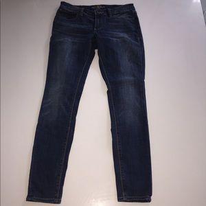 Lucky brand Charlie skinny jeans denim 26 4 ankle